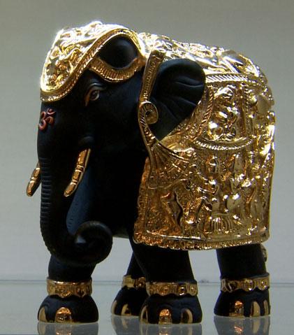 Elephant 3Inch Black Terekota